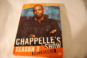 Chappelle's Show Season 2 dvd set-new and sealed + bonus