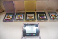 Game Boy Color et 5 jeux