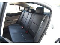 MINICAB/PRIVATE HIRE CAR LEATHER SEAT COVERS CITREON C4 GRAND PICASSO VOLKSWAGEN CADDY SKODA SUPERB