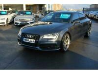 2014 Audi A7 3.0 TDI Quattro Black Ed 5dr S Tronic [5 Seat] Auto Hatchback Diese