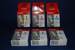 Canon Inkjet Replacement Cartridges – Brand New In Boxes