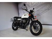 2014 - TRIUMPH SCRAMBLER, CUSTOM 8 BALL PAINT, IMMACULATE CONDITION, £7,295