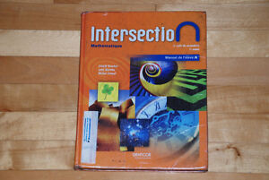 Intersection - Mathématiques
