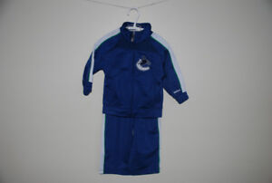 Canuck toddler tracksuit, Size 18 months