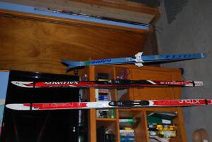 Skis de fond 65 $