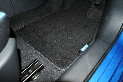 Nissan Micra K14 2017 On Velour Carpet Mats Blue New And