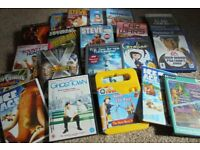18 DVD's Selection plus 1 X Box Game plus 2 Play Station Games