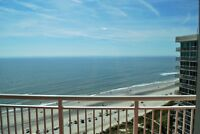 North Myrtle Beach - February Rental - 1 BR Ocean Front Condo
