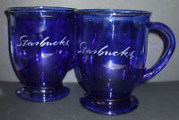 Looking to buy Starbucks Anchor Hocking Cobalt Blue Mugs