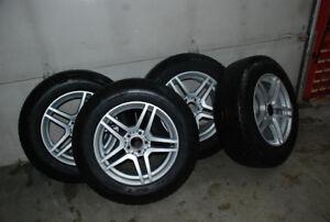 4 Pneus Michelin et jantes Mercedes (Mags)