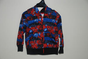 Spiderman zippered hoodie Size 24 months