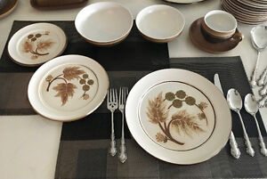 Denby Cotswold 12 Place Settings with 11 Serving Pieces