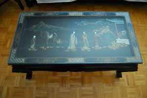 ASIAN VINTAGE COFFEE TABLE