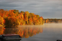 NOW BOOKING SEPT - 3 BDRM WATERFRONT COTTAGE W/BOAT & MOTOR INCL