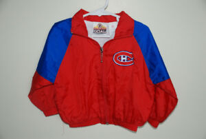 Montreal Canadiens zippered jacket, Size 2T