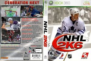 NHL 2K6 (Microsoft Xbox 360, 2005)