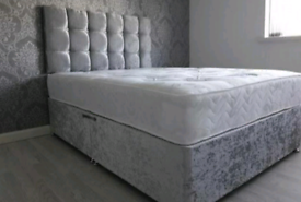 WEEKEND DELIVERY DIVAN bed sets with luxury mattress and FREE MATCHING