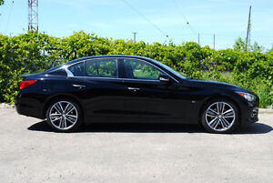 2015 Infiniti Q50 Limited Sedan - Low KMs - 24 months