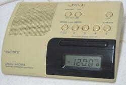 SONY ICF-C203 DREAM MACHINE Alarm Clock PLL Synthesized AM / FM Radio  Perfect