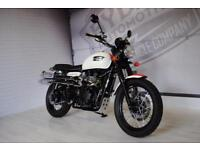 2014 - TRIUMPH SCRAMBLER, CUSTOM 8 BALL PAINT, IMMACULATE CONDITION, £6,350