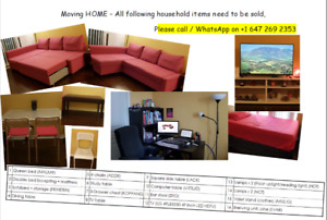 Moving out sale - Selling all furniture! In excellent condition!