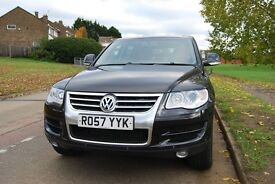 Low Mileage VW Touareg 2007 57 SE 3.0 V6 TDI (More power 268 bhp)