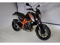 2013 - KTM 690 DUKE ABS, EXCELLENT CONDITION, £4,750 OR FLEXIBLE FINANCE