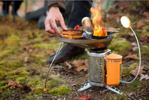 Bio-lite camp stove and Grill