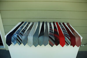 Men's Dress Ties For Sale (assorted colours and patterns in poly