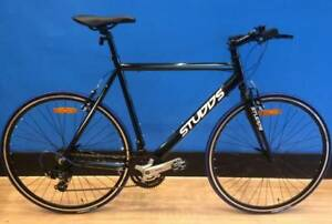 Brand New Studds 100 Alloy Flat Bar Road Bike - Shimano Gearing
