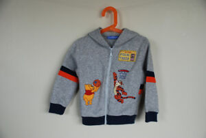 Winnie the Pooh &Tigger zippered hoodie Size 2T