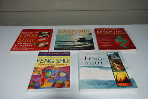 Feng Shui - Interior Design Books - Collection of 5 For Sale