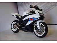2011 - SUZUKI GSXR 600 L0, IMMACULATE CONDITION, £6,000 OR FLEXIBLE FINANCE