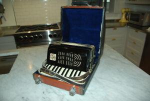 "Vintage German Accordion 12"""