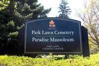 Burial Plot for 5 Family Members at Park Lawn Cemetery