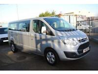 2015 - FORD TOURNEO CUSTOM 2.2 DIESEL, 300 LIMITED, 124 BHP, EXCELLENT C