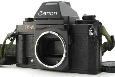 """Mint"" Canon New F-1 AE Finder 35mm SLR Film Camera Body From Japan D67"