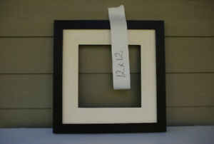Custom Picture Frame 12x12 (mahogany with liner #2011-081)