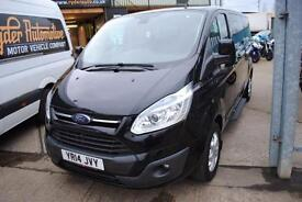 2014 - FORD TOURNEO CUSTOM 2.2TDCi, 9 SEATER, £15,500 INC VAT, FLEXIBLE FINANCE