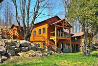 Lake Louisa Luxury Timber Frame Home with Boathouse
