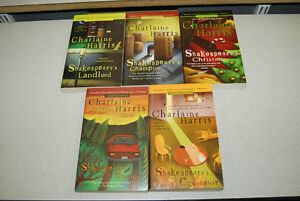 All 5 of Charlaine Harris' Lily Bard Mystery Series