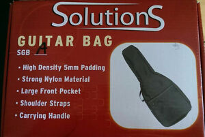 NEW UNUSED IN BOX Solutions Guitar Bag (SGB-A)