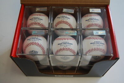 7d5fc050c3e Dozen Rawlings ROMLBOD15 Opening Day Major League Official ROMLB Baseball  w Cube