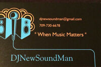 "DJ for ""When Music Matters"" ...Wedding, Anniversary, Birthday..."