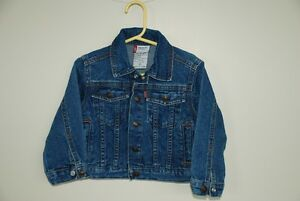 """Little Levi"" denim jean jacket Size 2T"
