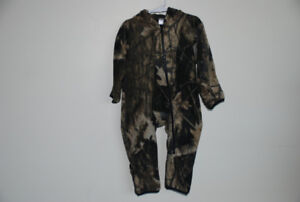 Camo bunting suit for toddler Size 18 months
