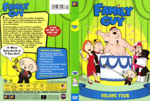 Family Guy, Volume Four - 3 DVD Set, NEW, Sealed -- $10.00