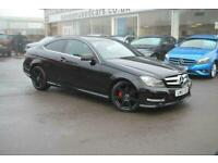 2012 Mercedes-Benz C Class C220 CDI BlueEFFICIENCY AMG Sport 2dr Coupe Diesel Ma
