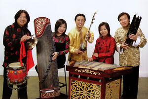 Live Chinese music provided by virtuosos