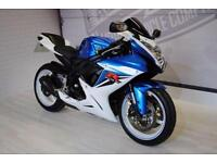 2011 - SUZUKI GSXR600, IMMACULATE CONDITION, £6,000 OR FLEXIBLE FINANCE TO SUIT